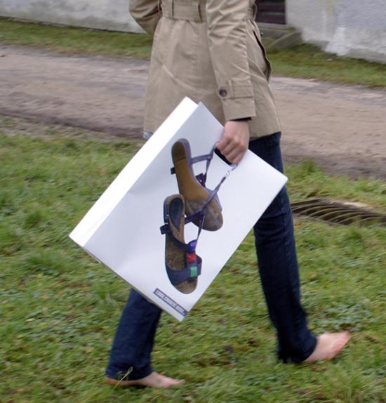 In túi giấy giày dép giá rẻ hcm