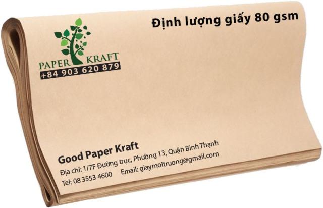 giấy kraft in túi