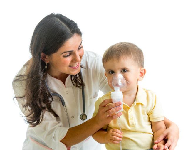 Trị hen suyễn cho trẻ em